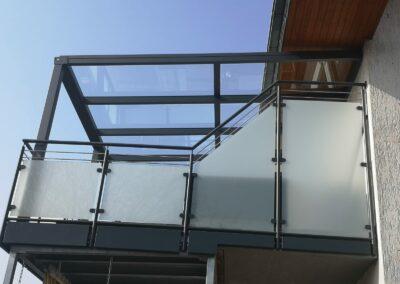 Balkonüberdachung